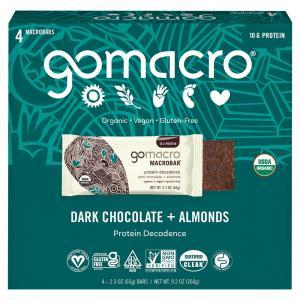 GoMacro Macrobar Organic & Gluten Free Protein Decadence
