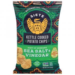 Siete Sea Salt & Vinegar Kettle Cooked Potato Chips