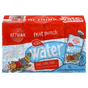 Rethink Organic Sugar Free Fruit Punch Water