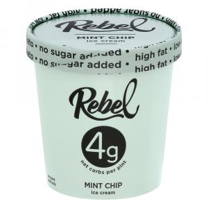 Rebel Mint Chip Ice Cream