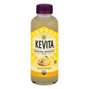 Kevita Organic Sparkling Probiotic Drink Lemon Ginger