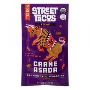 Riega Organic Steak Street Taco Seasoning Carne Asada