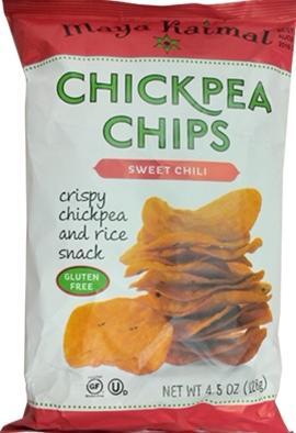 Maya Kaimal Sweet Chili Chickpea Chips