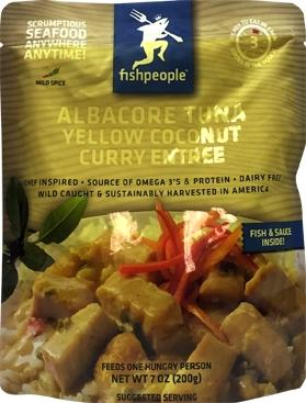 Fish People Albacore Tuna Coconut Curry Entree