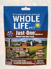 Whole Life Pet Mini One's Beef Liver Training Treats