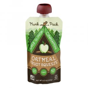 Munk Pack Apple Cinnamon Quinoa Oatmeal Fruit Squeeze