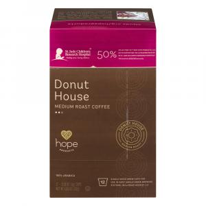 Hope Products Donut House Medium Roast Coffee