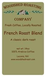 Woodshed Roasting Company French Roast Blend Coffee
