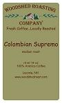 Woodshed Roasting Company Colombian Supremo Coffee