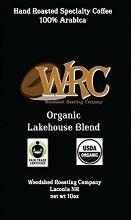 Woodshed Roasting Company Organic Lakehouse Blend Medium