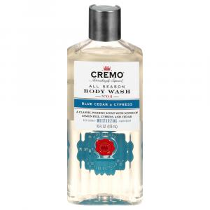Cremo All Season Body Wash Blue Cedar & Cypress