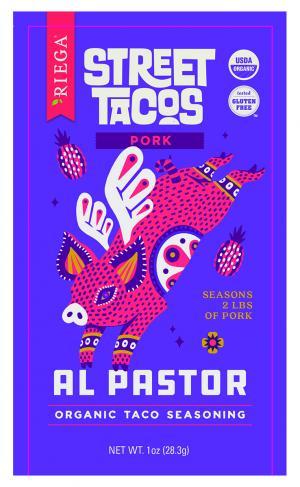 Riega Street Tacos Al Pastor Organic Taco Seasoning Pork