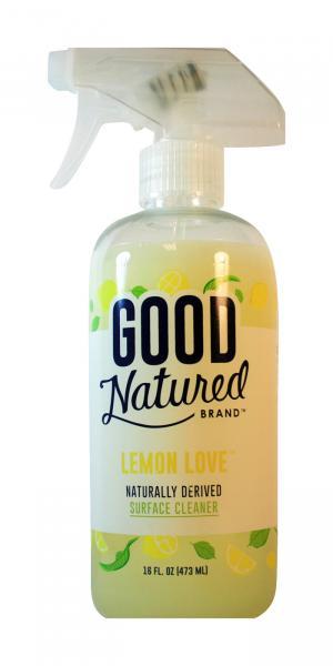 Good Natured Lemon Love Surface Cleaner Spray