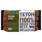Teton Waters Ranch Grass Fed Beef Italian Sausage
