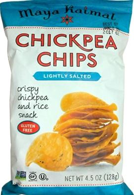 Maya Kaimal Lightly Salted Chickpea Chips