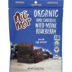 Nib Mor Organic Dark Chocolate Wild Maine Blueberry