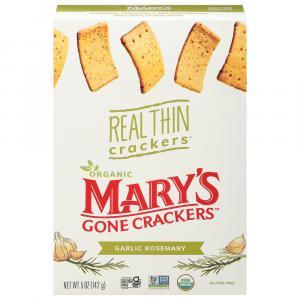 Mary's Organic & Gluten Free Real Thin Crackers