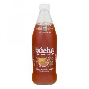 Bucha Organic Grapefruit Sage Kombucha Tea