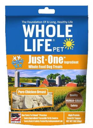 Whole Life Pet Foodies For Dogs Grilled Chicken Breast