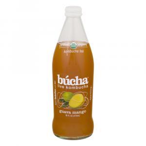 Bucha Organic Guava Mango Kombucha Tea
