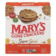 Mary's Gone Crackers Organic Gluten Free Vegan Super Seed