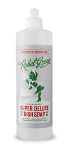 Rebel Green Super Deluxe Dish Soap Unscented Fragrance Free