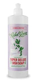 Rebel Green Super Deluxe Dish Soap Lavender & Grapefruit
