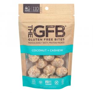 The GFB Gluten Free Bites Coconut Cashew Crunch