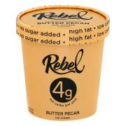 Rebel Butter Pecan Ice Cream
