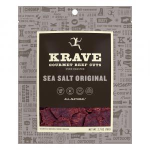 Krave Beef Jerky Sea Salt Original