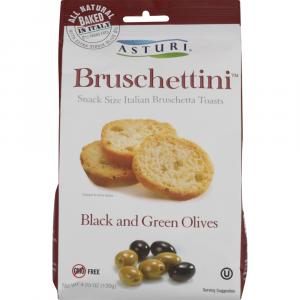 Asturi Bruchettini Black & Green Olives