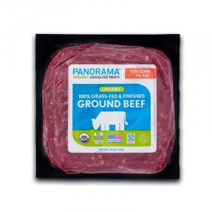 Panorama Organic Grass-Fed Ground Beef 93/7