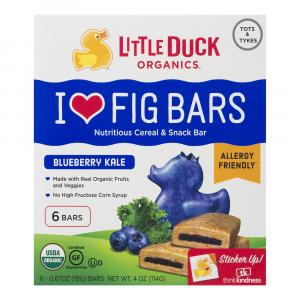 Little Duck Organic Blueberry Kale Fig Bars