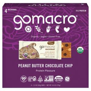 GoMacro Macrobar Organic & Gluten Free Protein Pleasure