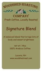Woodshed Roasting Company Signature Blend Coffee