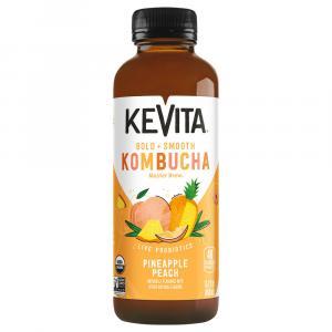 Kevita Master Brew Organic Kombucha Pineapple Peach