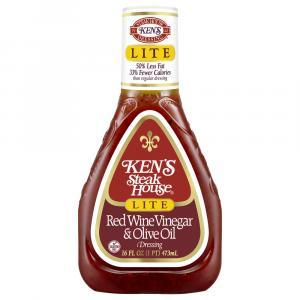Ken's Lite Red Wine Vinegar & Olive Oil Salad Dressing