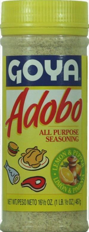Goya Adobo with Lemon
