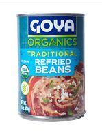 Goya Organics Traditional Refried Beans