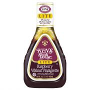 Ken's Lite Raspberry Walnut Vinaigrette Salad Dressing
