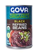 Goya Organic Black Refried Beans