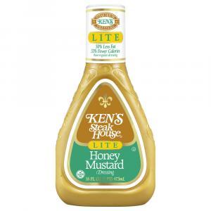 Ken's Lite Honey Mustard Salad Dressing