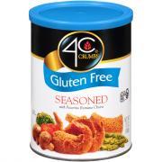 4C Gluten Free Seasoned Bread Crumbs