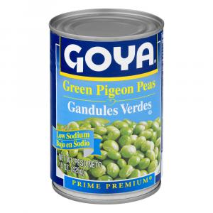 Goya Low Salt Green Pigeon Peas