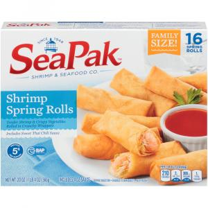 SeaPak Family Pack Shrimp Spring Rolls