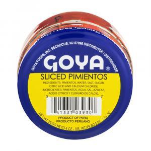 Goya Sliced Red Pimientos