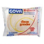 Goya Large White Disco