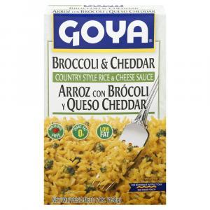 Goya Broccoli & Cheddar Country Style Rice