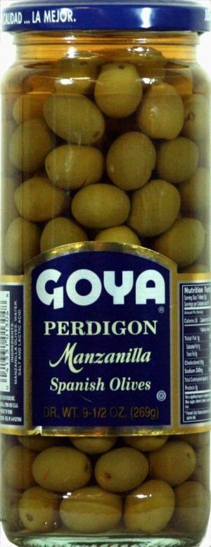 Goya Perdigon Olives