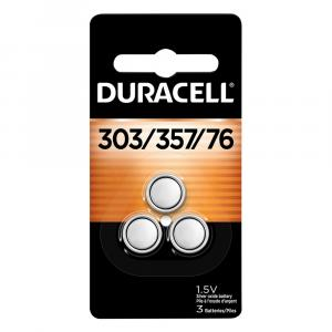 Duracell Silver Oxide Battery 303/357